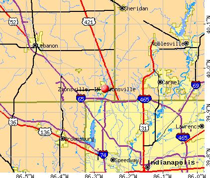 zionsville map